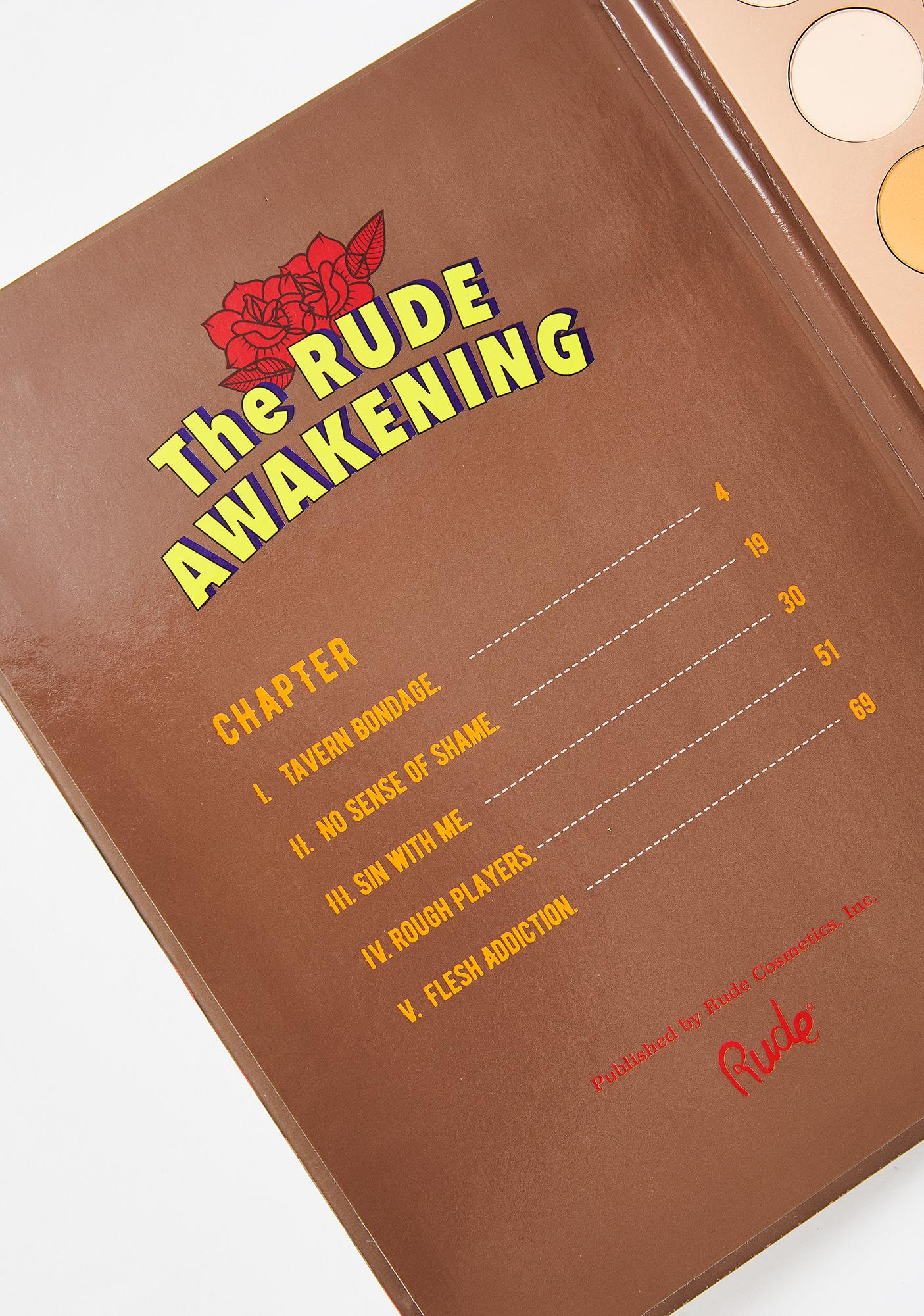 Rude Cosmetics The Rude Awakening Eyeshadow Palette