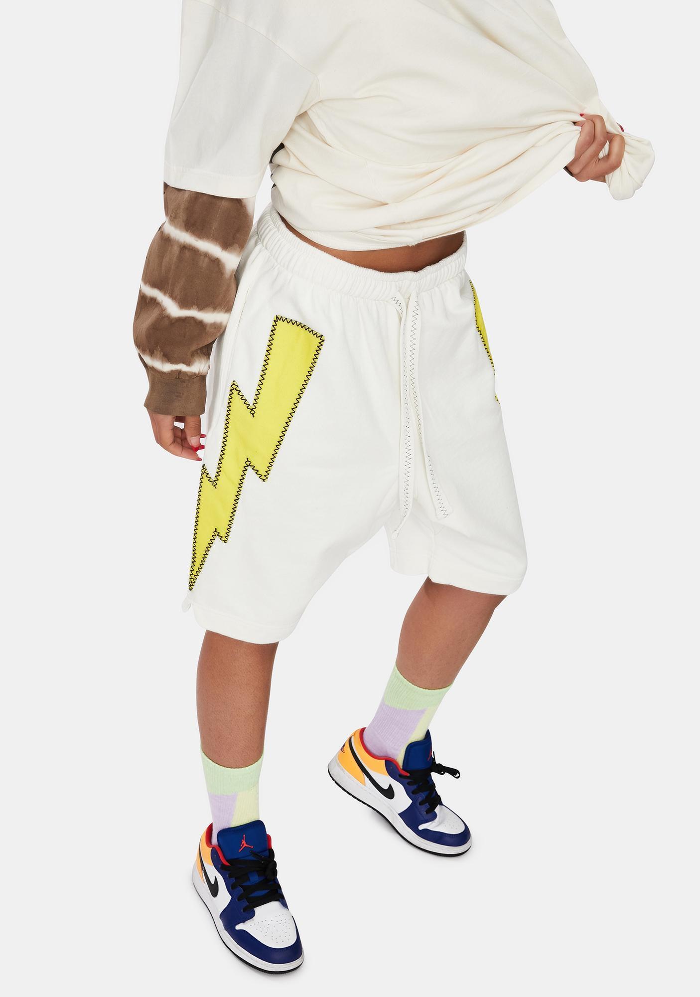The Rad Black Kids Jump Higher Shorts