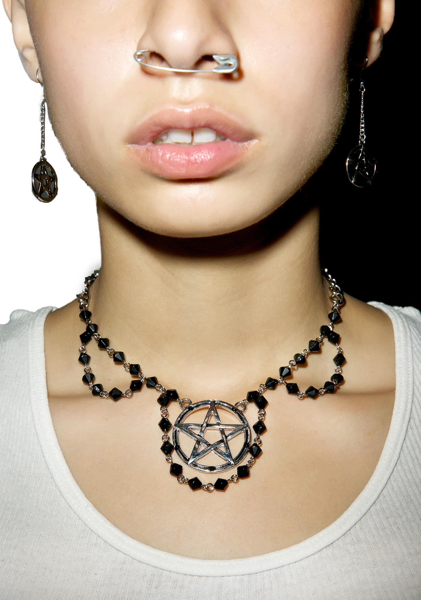 Malicious Pentagram Necklace