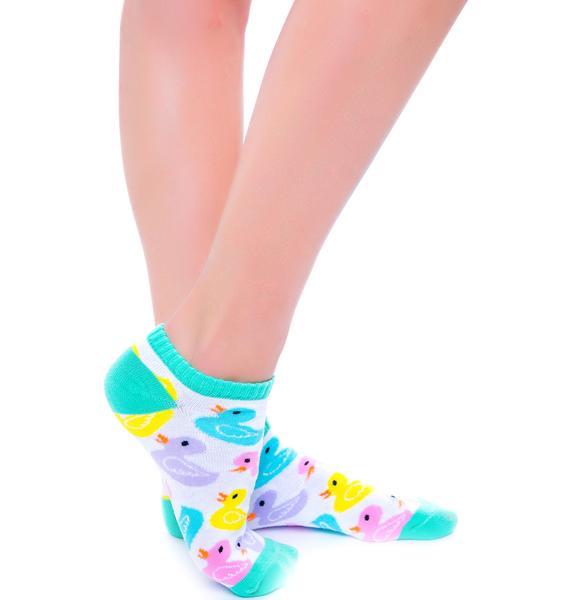 Lucky Duckies Sock