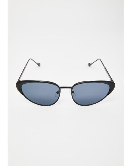 Total Wannabe Cat Eye Sunglasses