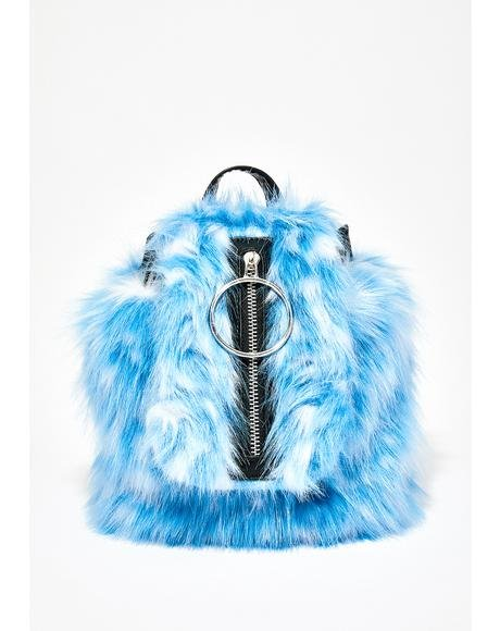 Dream Queen Fuzzy Backpack