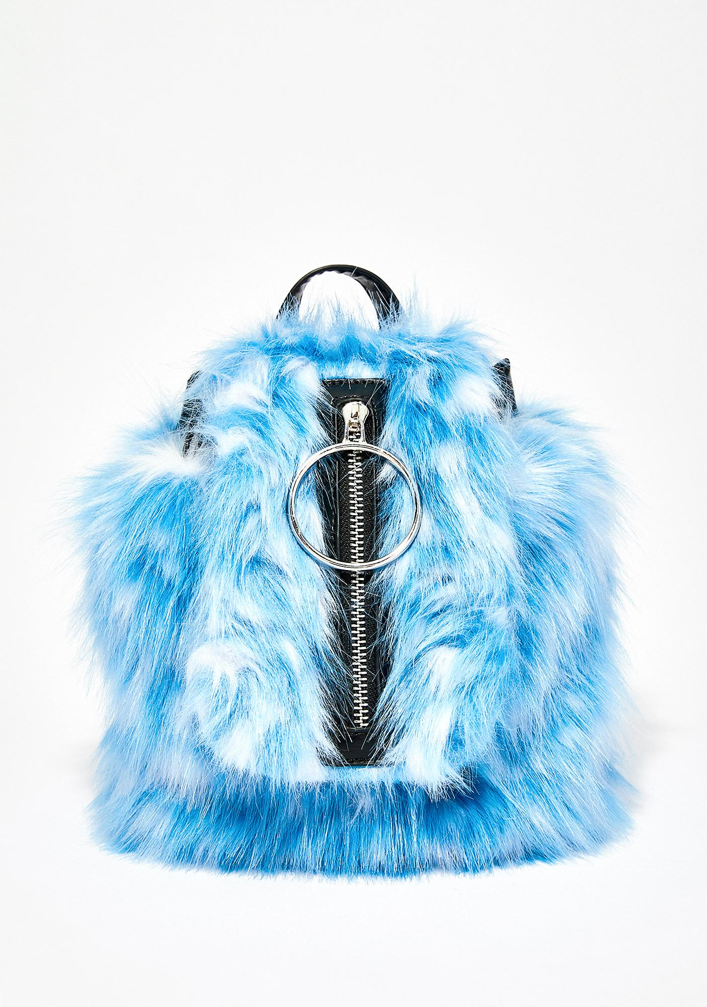 Current Mood Dream Queen Fuzzy Backpack