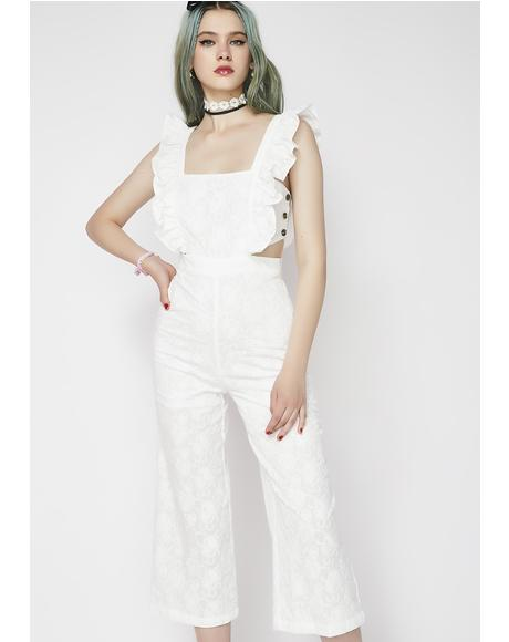 Sugar Coated Ruffle Jumpsuit