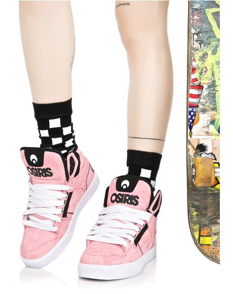 Pink Clone Sneakers