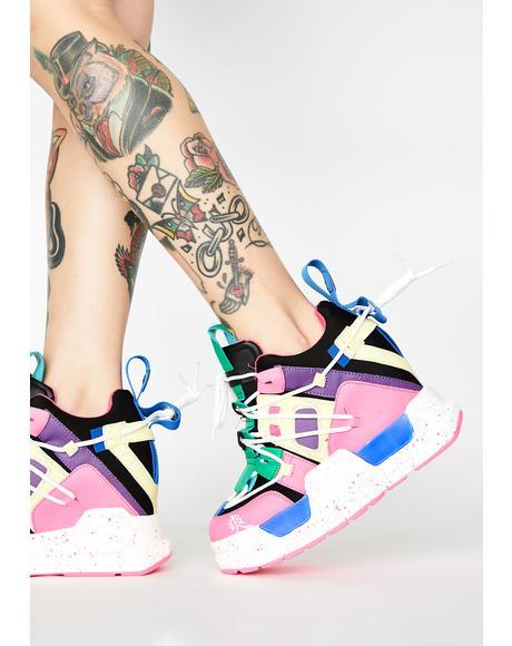 OMFG Platform Sneakers