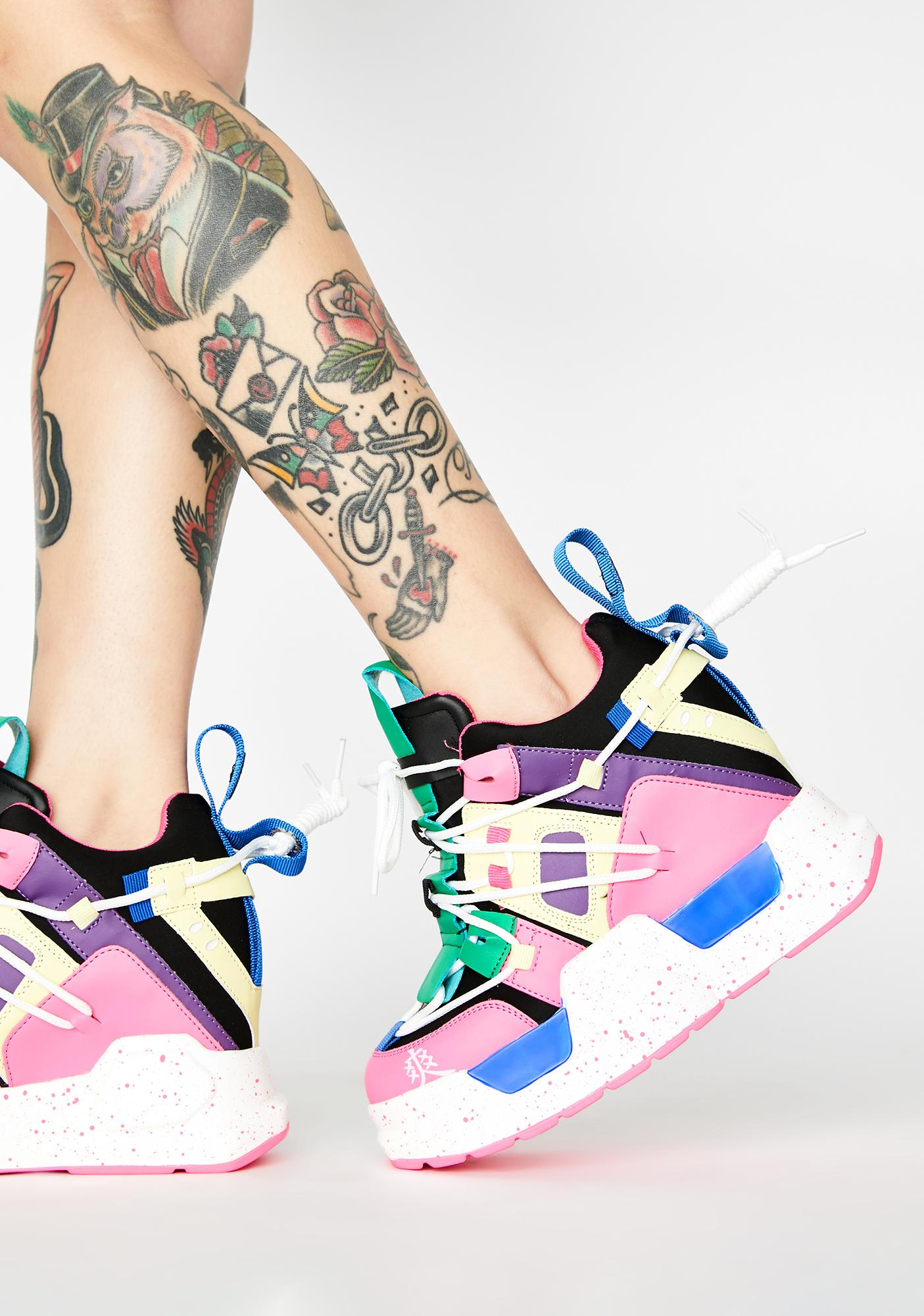 Anthony Wang OMFG Platform Sneakers