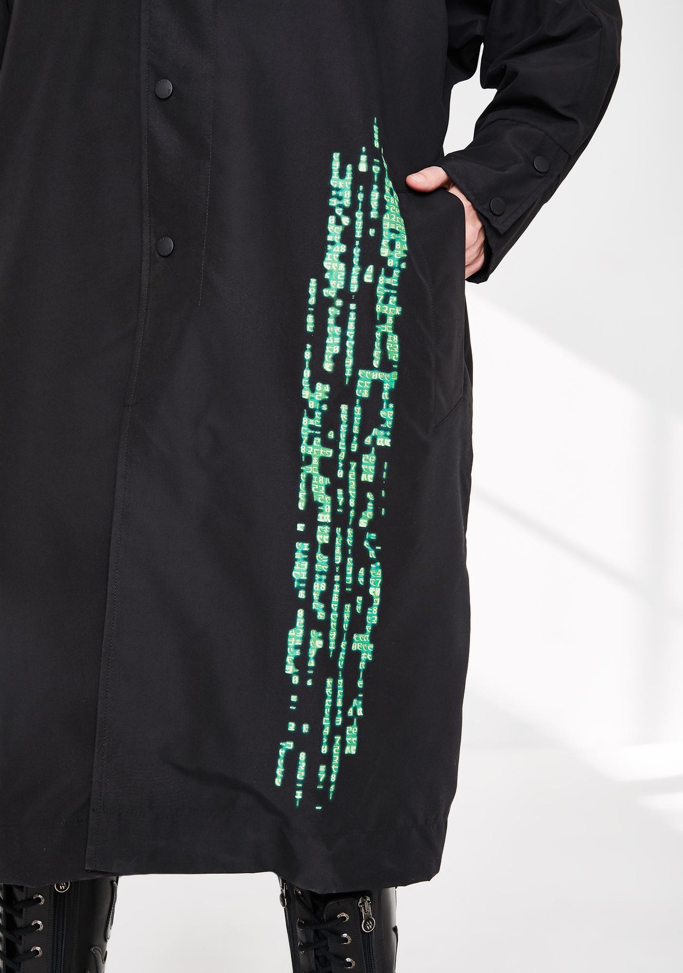 Joyrich Matrix Trench Coat
