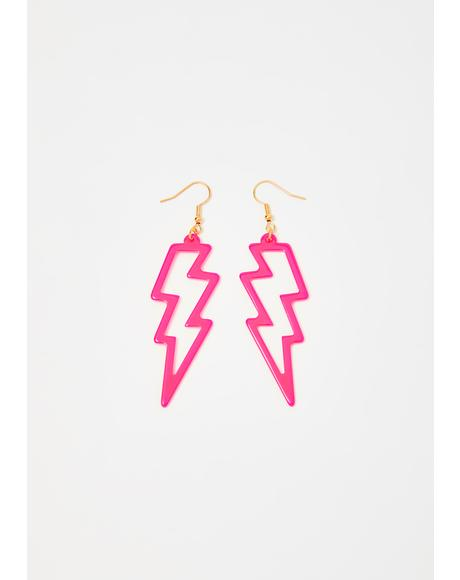 Gone In A Flash Drop Earrings