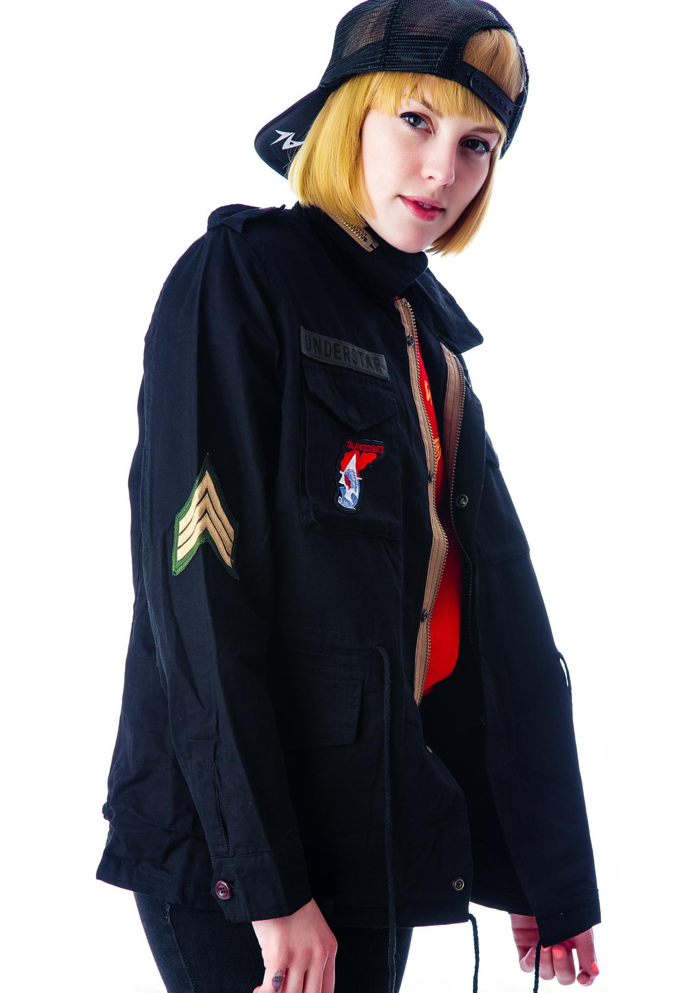 Reinhardt Drawstring Surplus Jacket