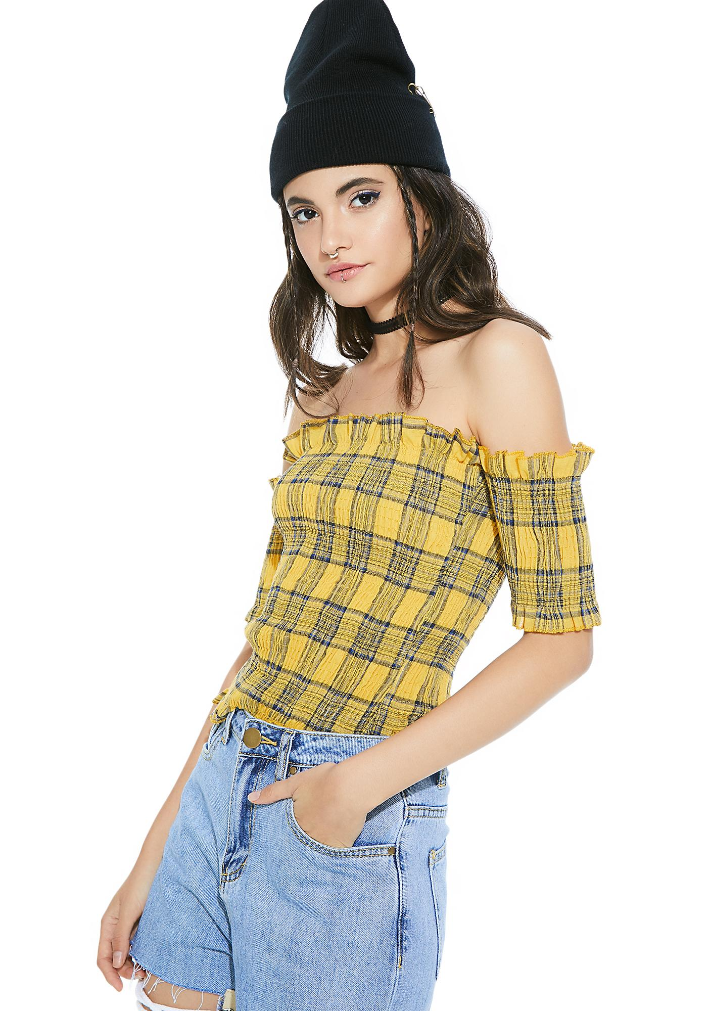 Marshall Off-Shoulder Top