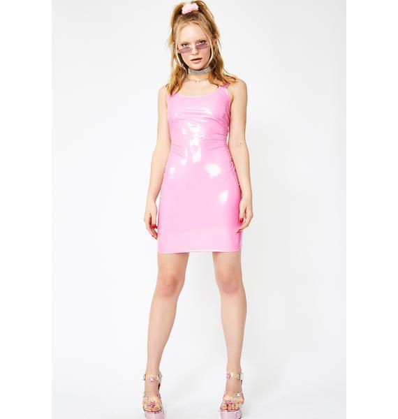 Party Princess Vinyl Dress