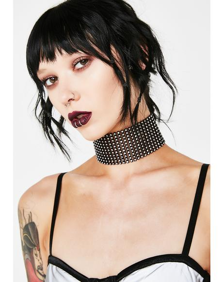 Bathe Me In Sparkles Choker