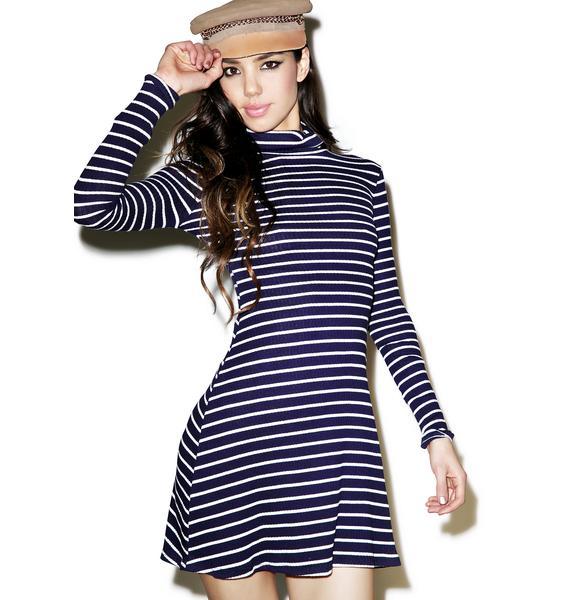 Choux Skater Dress