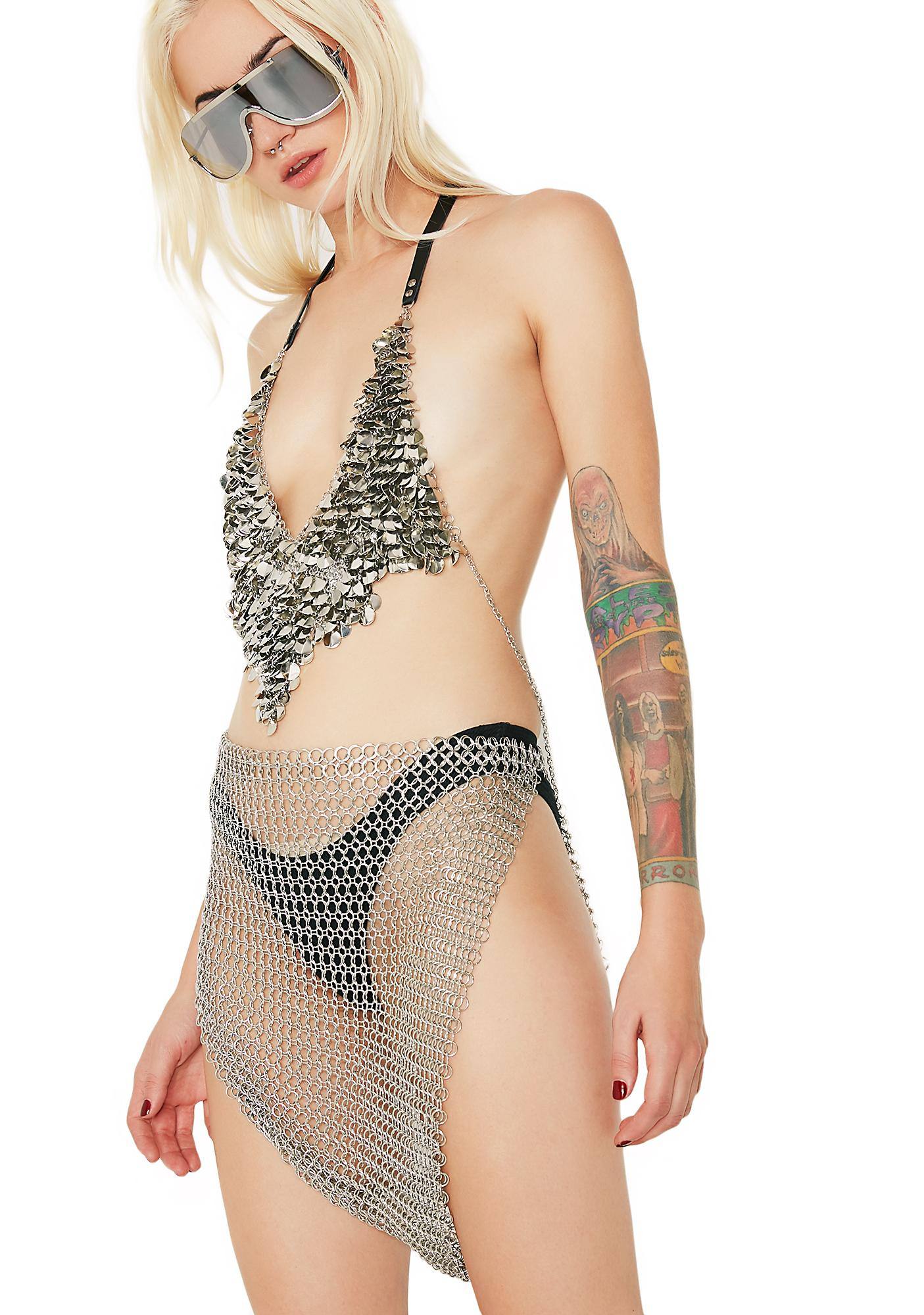 Barely There Chainmail Skirt