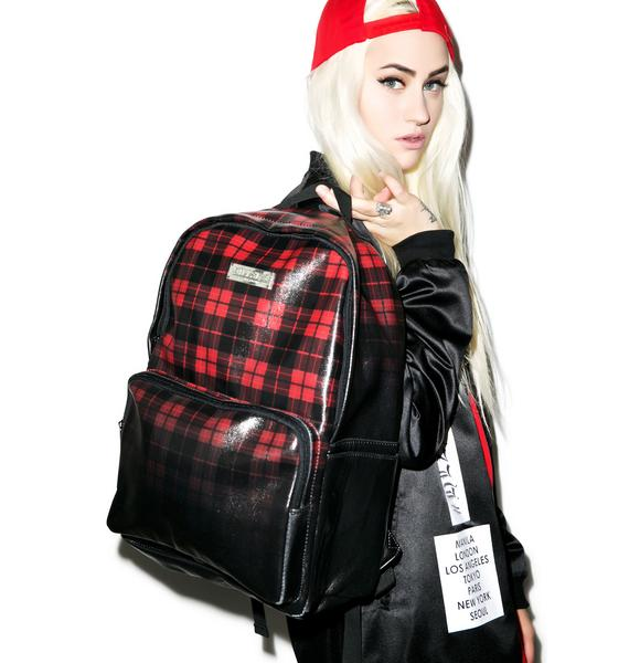 Killstar Tartan Backpack