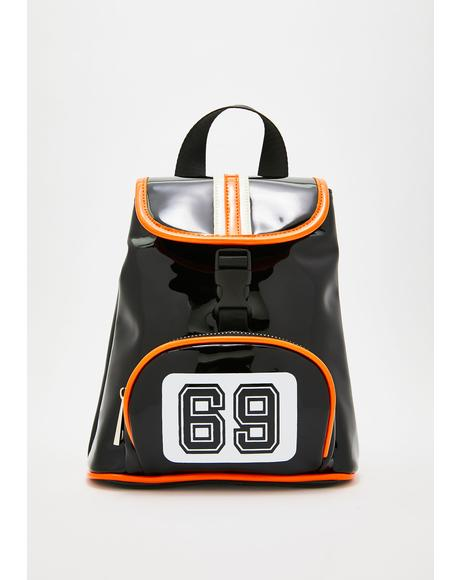 Real MVP Vinyl Backpack