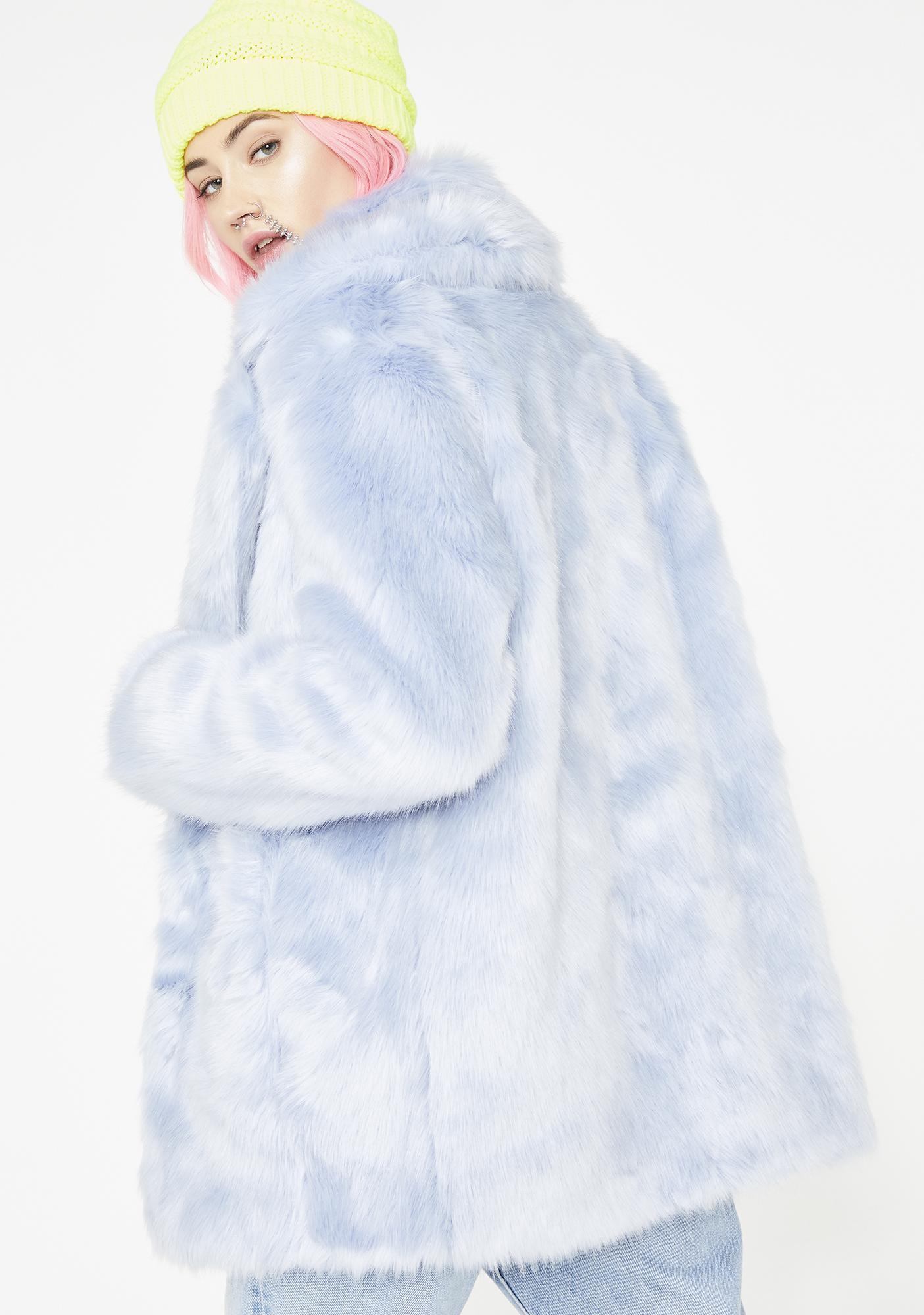 Jakke Sapphire Heather Coat