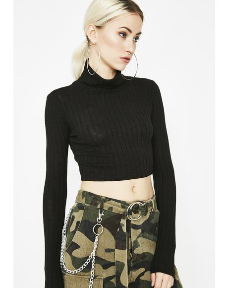 Midnight By Association Crop Top
