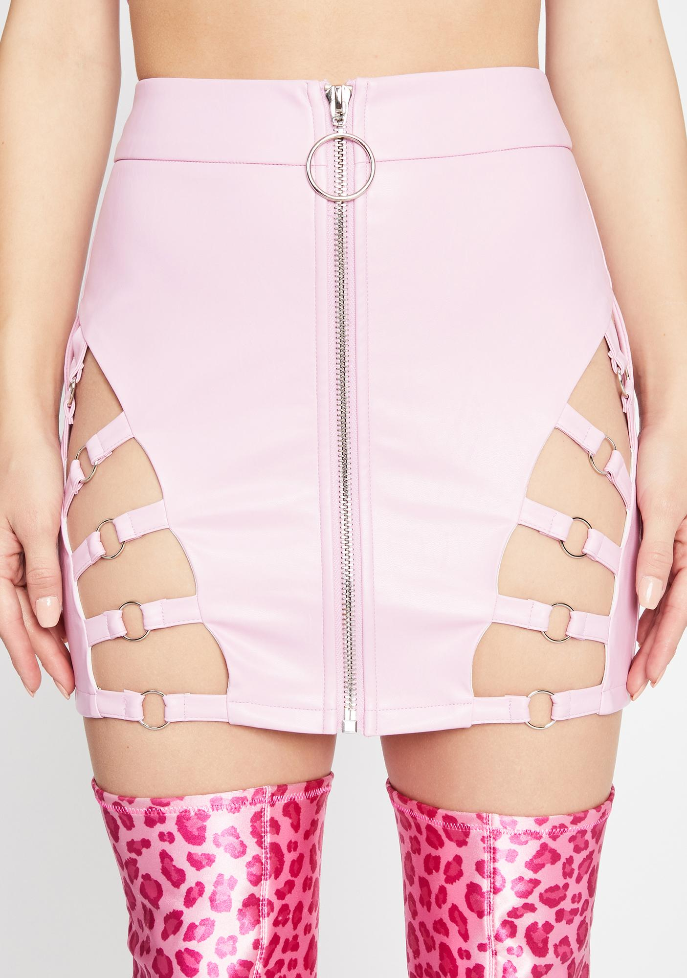 Iconic Kinks Cut-Out Skirt