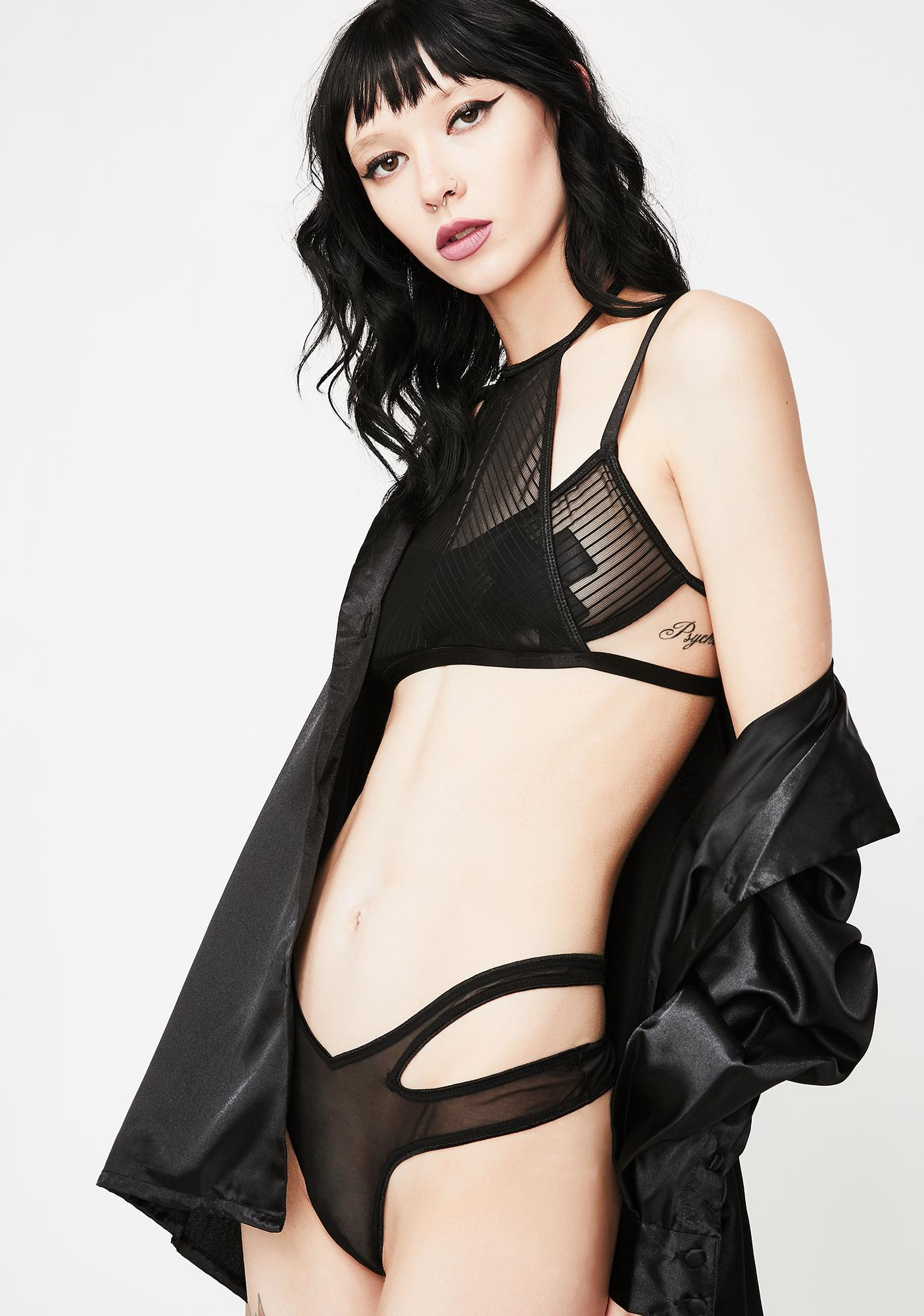 Next to Nothing Safe Word Underwire Bra