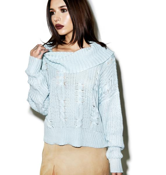 Somedays Lovin Ralphie Cable Knit Sweater