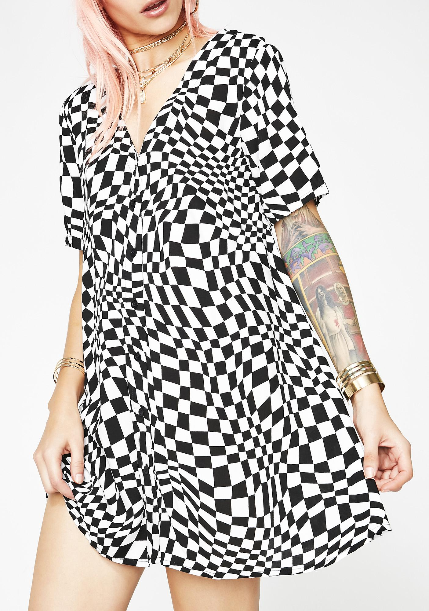 Motel Trippy Crosena Dress