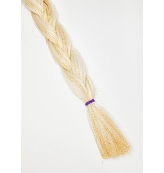 Get Braidified Firefly Twinkle Tinsel Hair Extensions