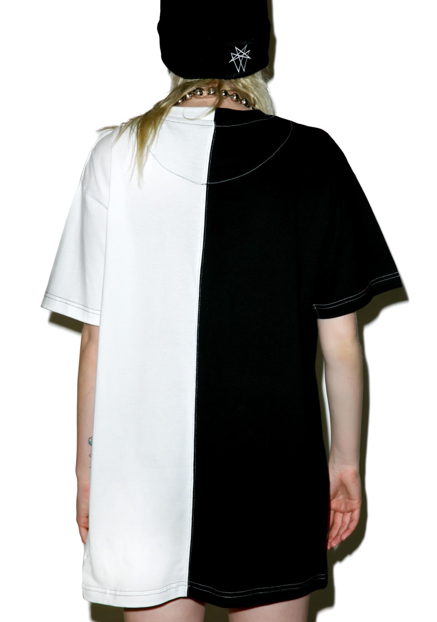 Long Clothing x Mishka Chain Two Tone Tee