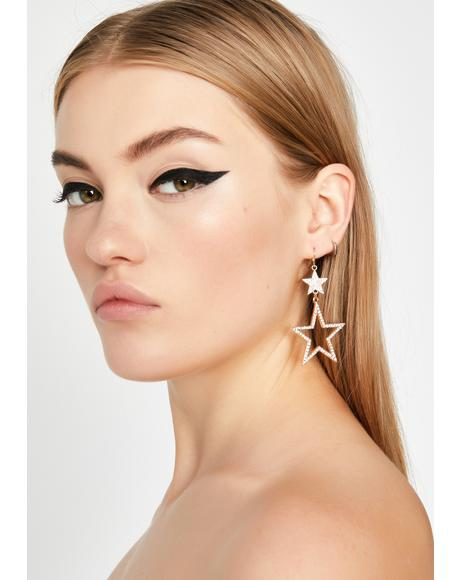 Twinkle Twinkle Bish Star Earrings