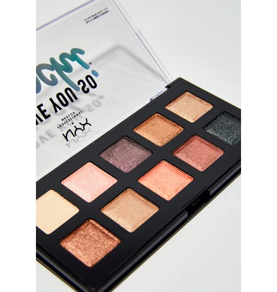 NYX Sleek And Chic Love You So Mochi Eyeshadow Palette