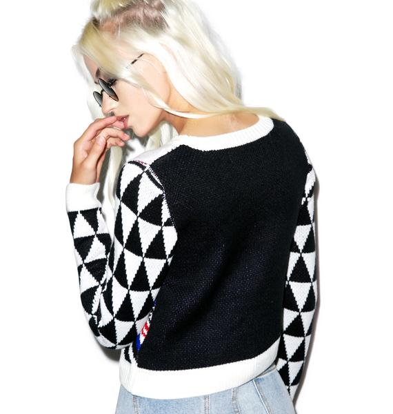 Mink Pink Disturbia Knit Jumper