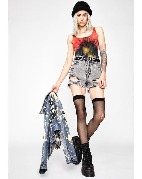 Grunge Honey Tie Dye Bodysuit