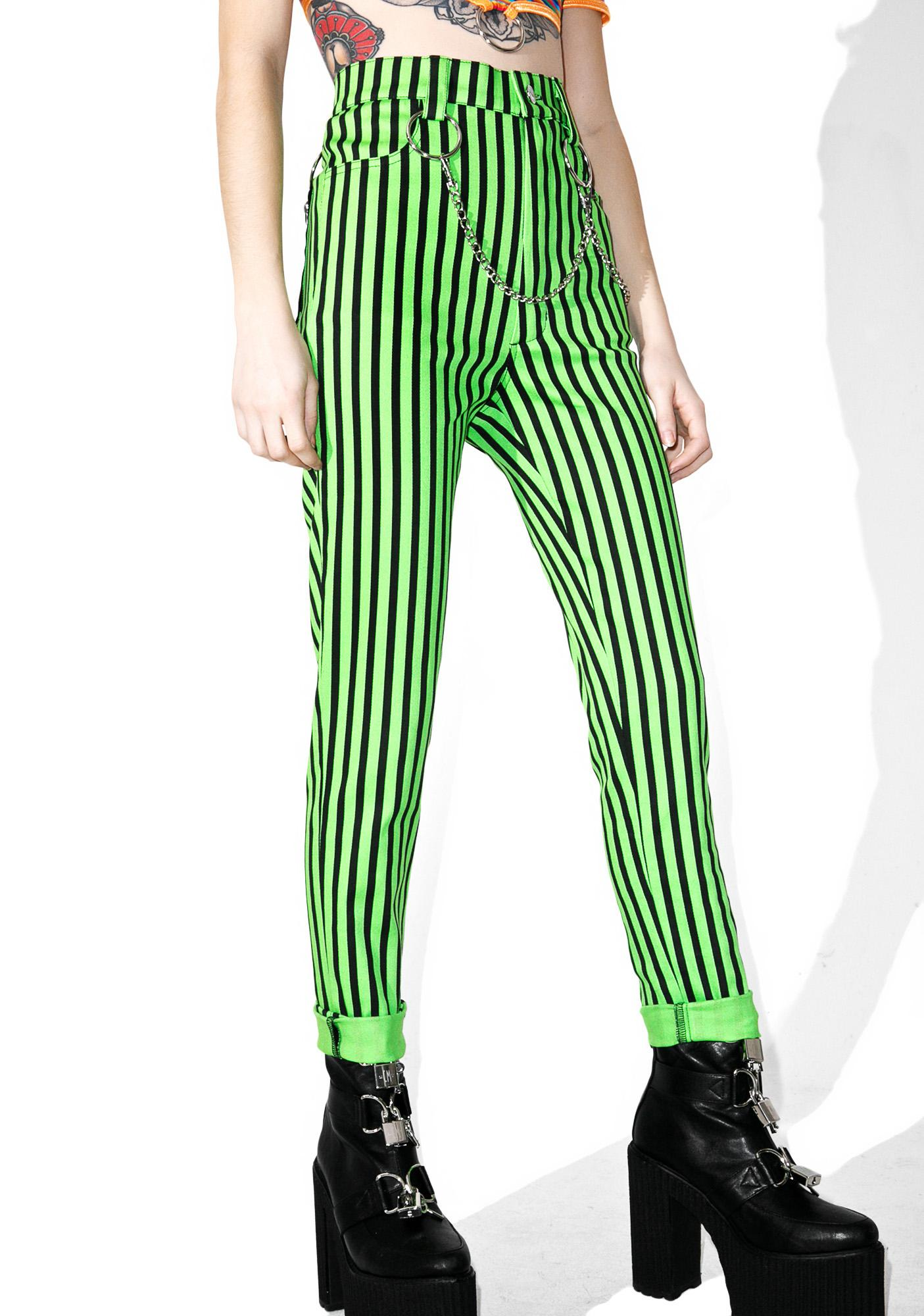 95910e48c Indyanna Beetlejuice Pants | Dolls Kill