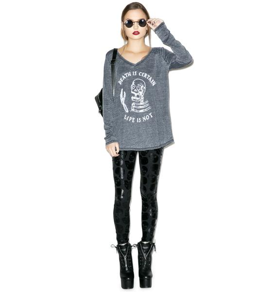 Iron Fist Certain Death Long Sleeve Tee