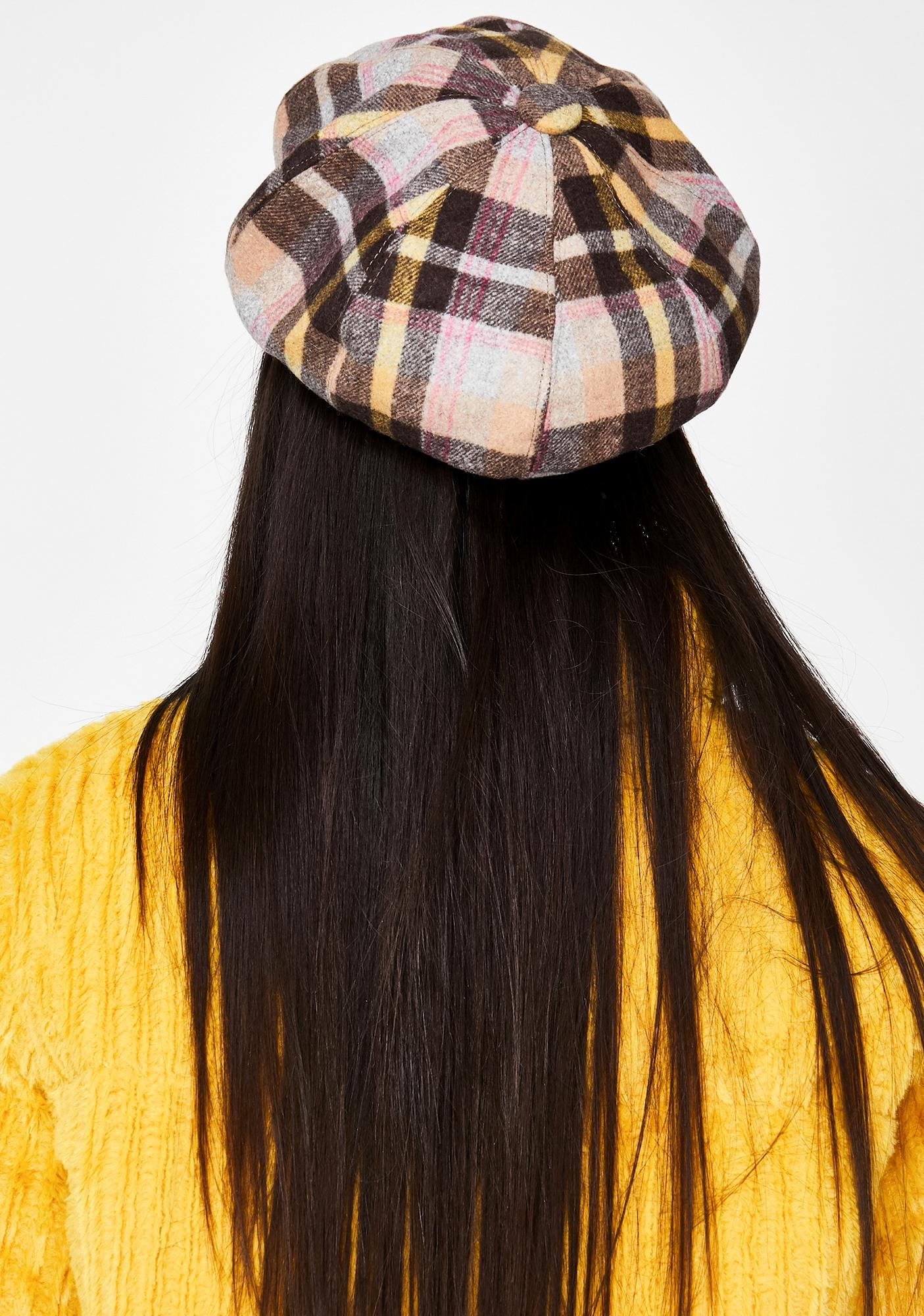 Checkin' Up Plaid Hat