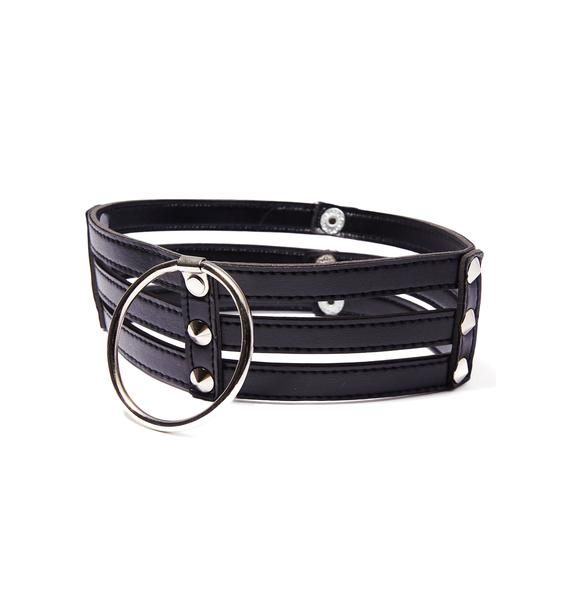 Kiki Riki Dark Fantasies Layered Choker
