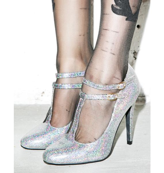 Sparkling Serenity Heels