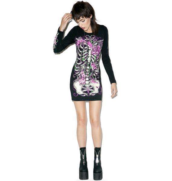Lovely Bonez Bodycon Dress