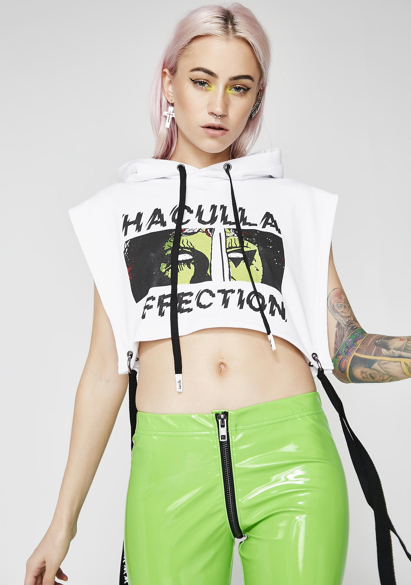 Haculla Affection Crop Hoodie