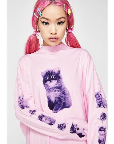 Mood Swing Cat Long Sleeve