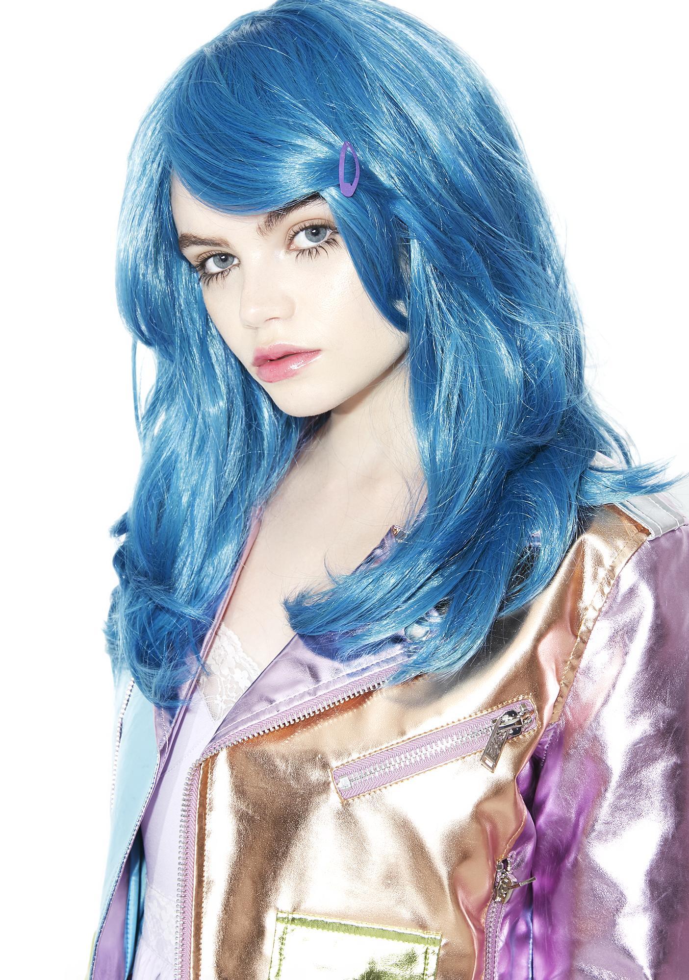 Rockstar Wigs Azure Sea Wavy Mid-Length Wig