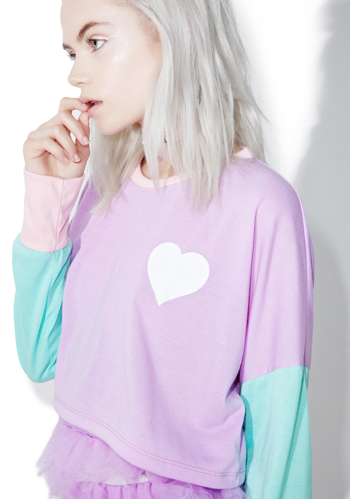 Magic Of Luv Crop Tee