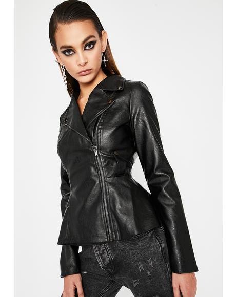 Baddie Lane Moto Jacket