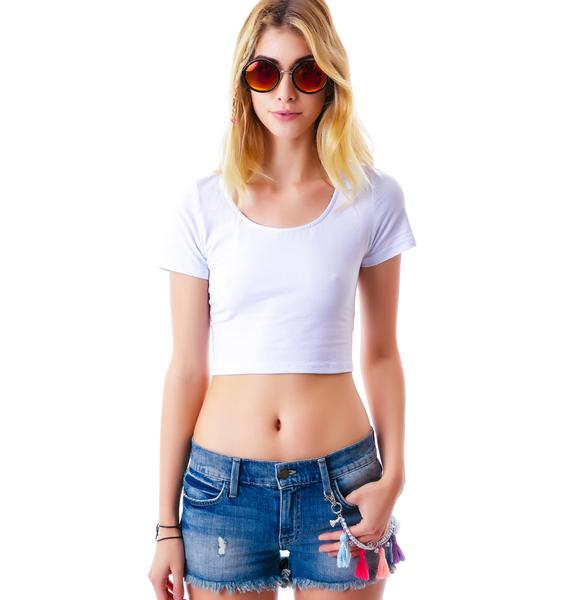 Wildfox Couture Wish Ruby Tassel Shorts