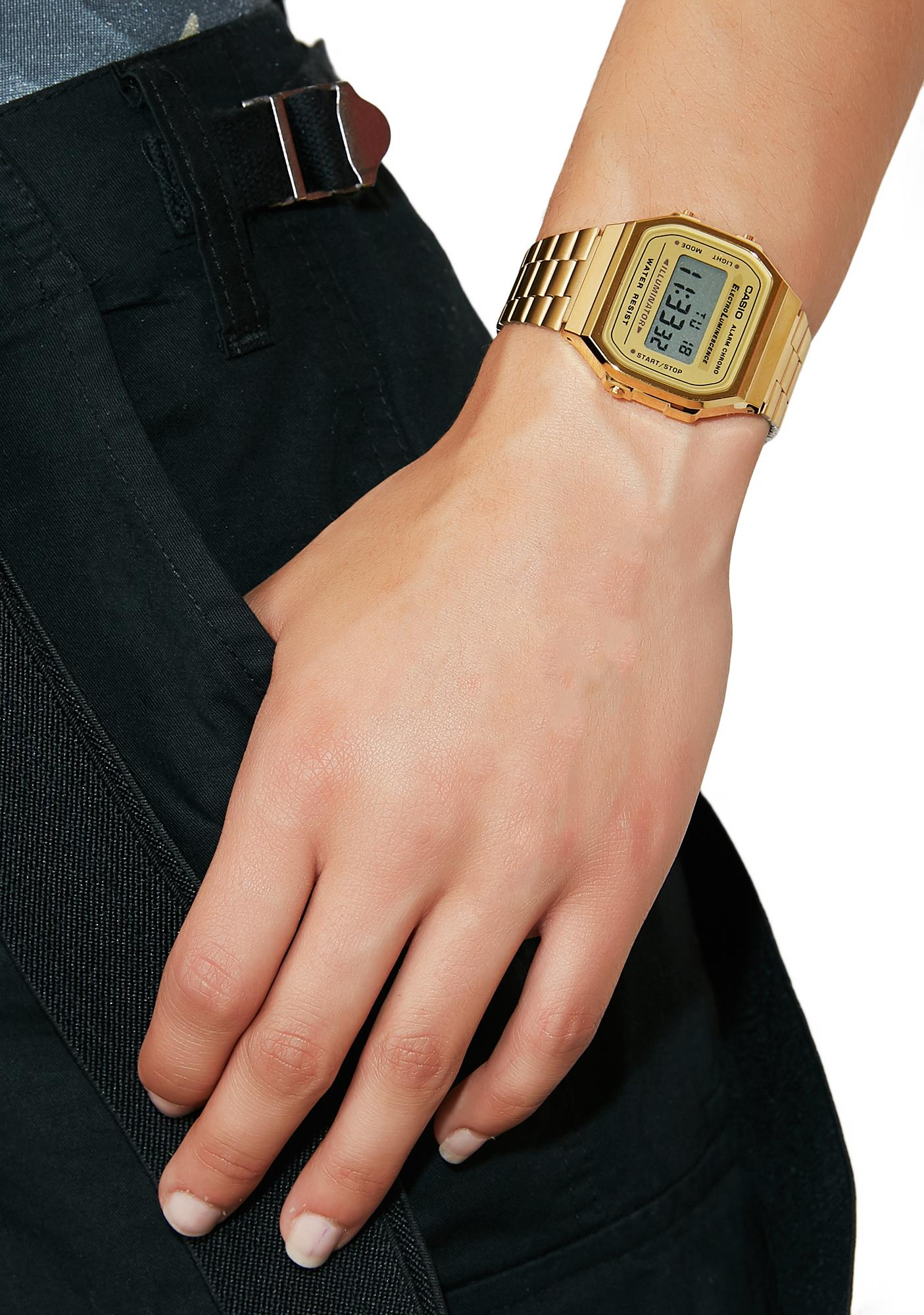 G-Shock Gambling Grandpa Vintage Casio Watch
