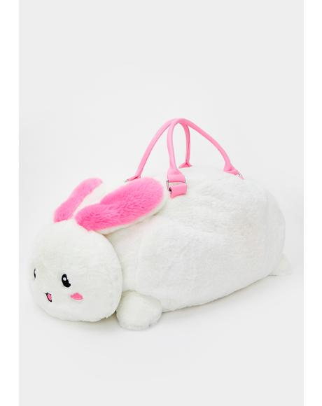 Spoiled Snowball Bunny Weekender