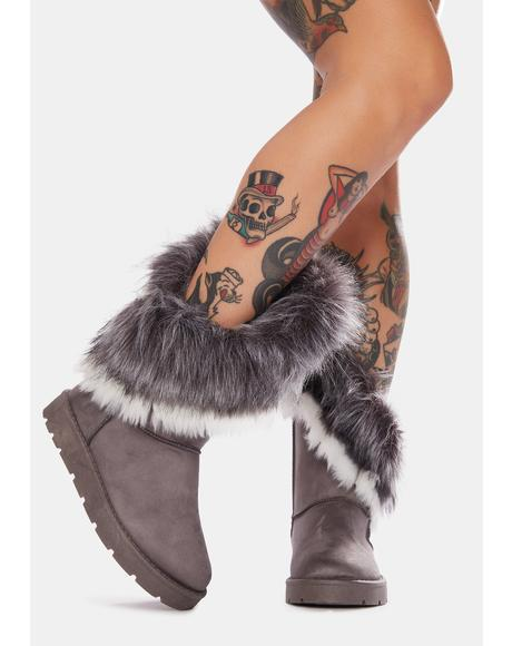 Winter Wishes Faux Fur Boots