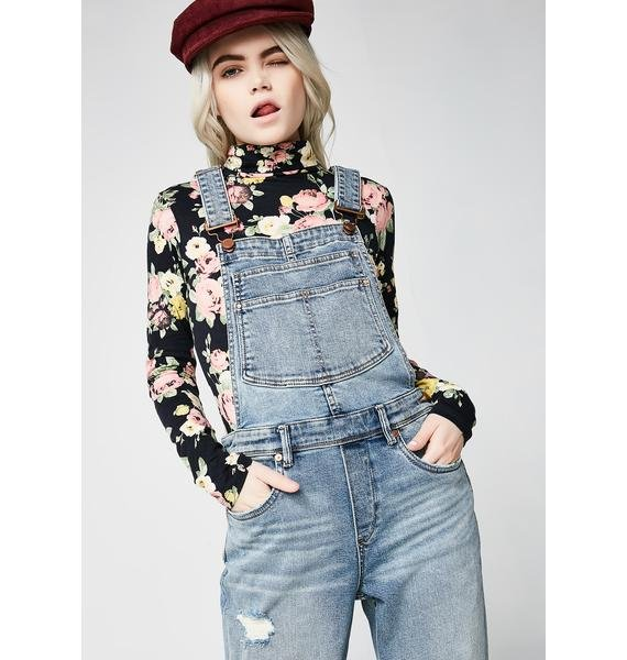 Blank NYC Get It Together Overalls