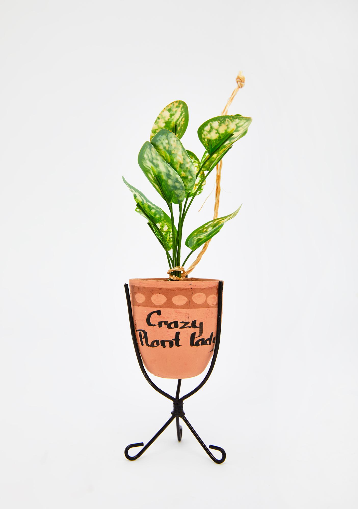 Crazy Plant Lady Tree Ornament